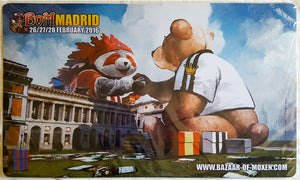 Bazaar of Moxen Madrid 2016 - MTG Playmat