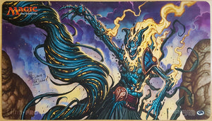 Fulminator Mage - Signed by Artist - MTG Playmat