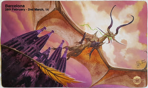Grand Prix Barcelona 2014 - MTG Playmat