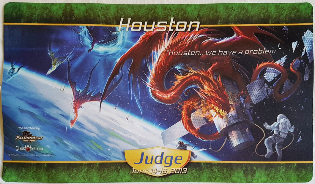 Grand Prix Houston 2013 Judge - MTG Playmat