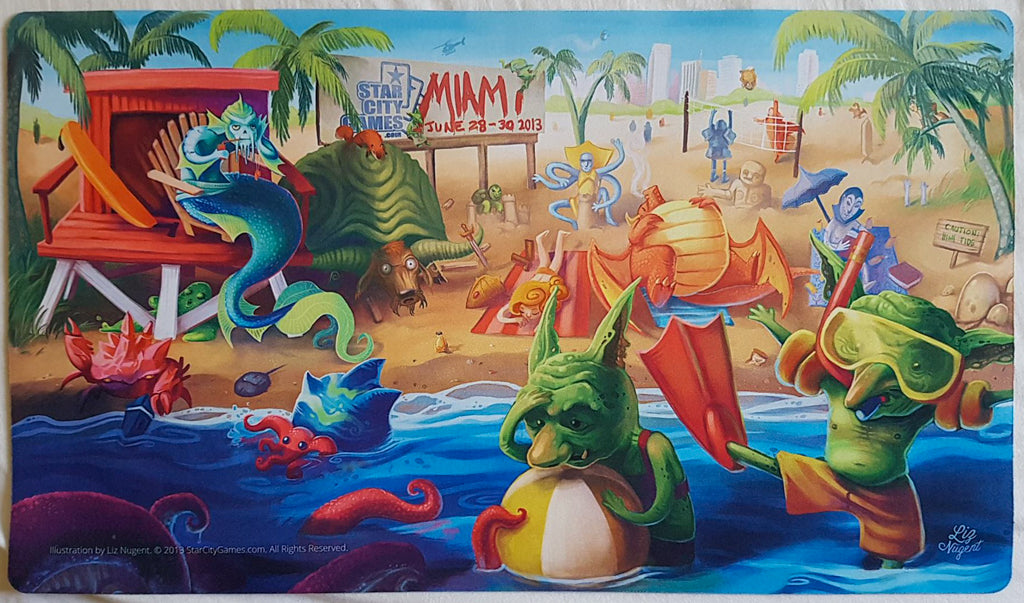 Grand Prix Miami 2013 - Star City Games - MTG Playmat