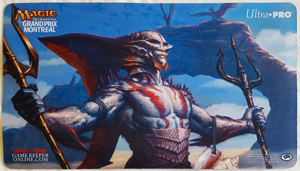 Kiora's Follower - Grand Prix Montreal 2014 - MTG Playmat