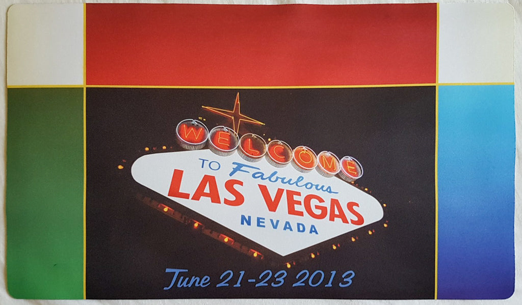 Welcome to Fabulous Las Vegas Nevada - MTG Playmat