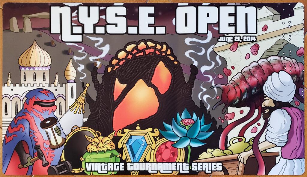 N.Y.S.E. Open 2014 - Vintage Tournament Series - MTG Playmat