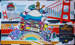 Pokémon World Championships San Francisco 2016 - Pokémon Playmat