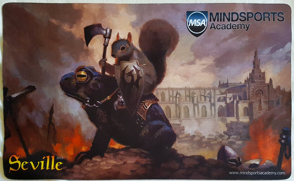 Grand Prix Seville 2015 - MTG Playmat