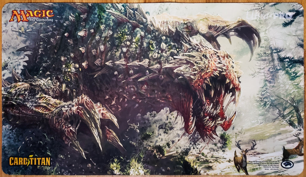 Tarmogoyf - Eternal Weekend 2013 - MTG Playmat
