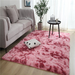 TIE DYEING PLUSH SOFT CARPETS superproductonline