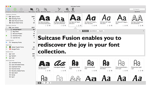 Suitcase Fusion 8 (bundled w/FontDoctor) - Upgrade (from v18)