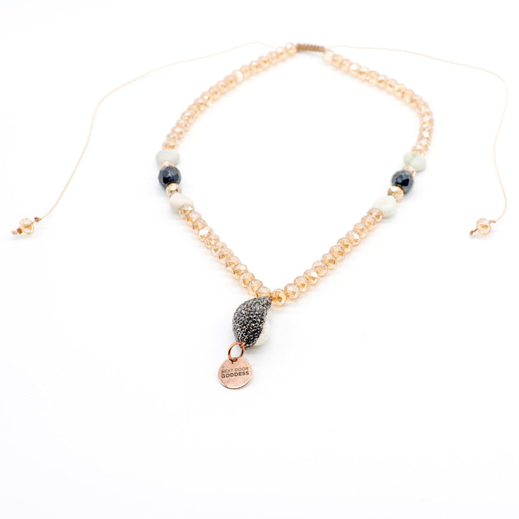 Innocent Heart Pearl Necklace-Necklace-Next Door Goddess