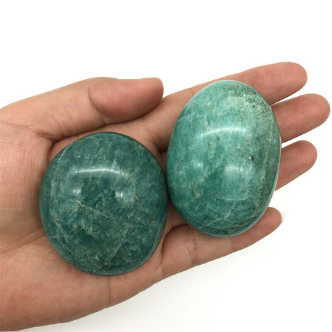 Image of Amazonite Crystal PalmStones
