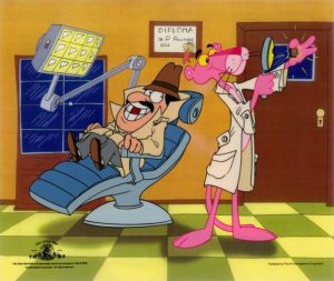 Pink Panther Dentist