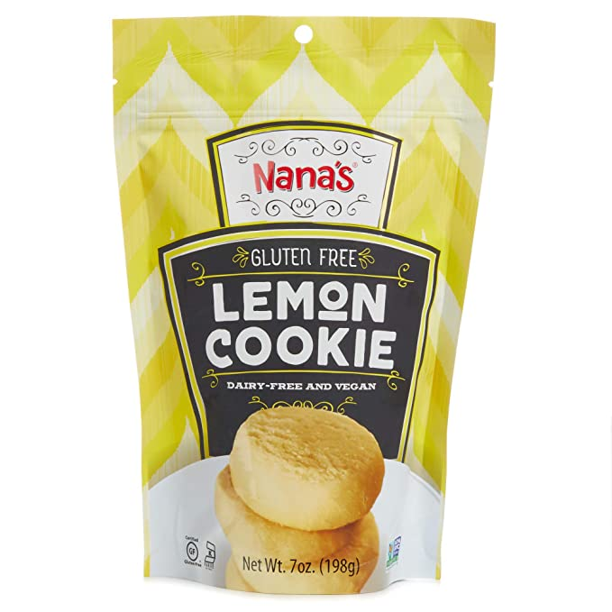 Nana's Gluten Free Lemon Cookies - (7 Ounce - Bag)