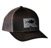 Rogue Tuna Trucker Hat - Black/Charcoal