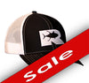 Rogue Tuna Trucker Hat - Black/White