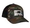 Rogue Tuna Trucker Hat - Camo/Black