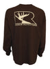 Rogue Outfitters Deer Logo LS Tee - Chocolate/Tan