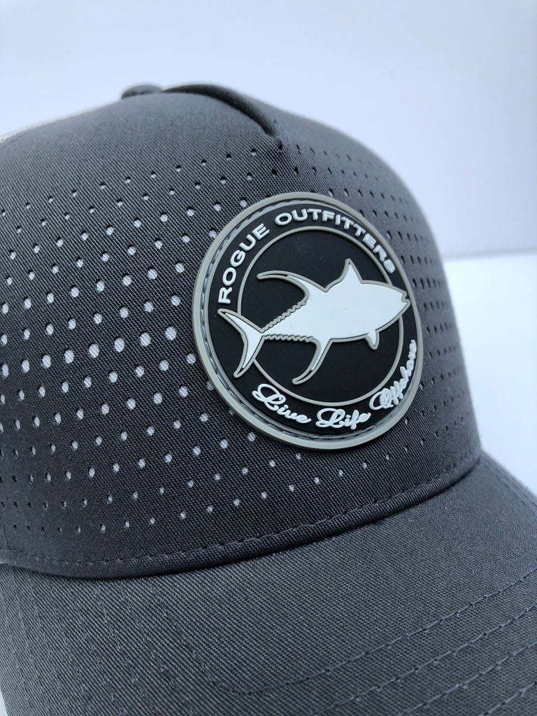 fb3b6993 Rogue Outfitters Tuna Patch Trucker Hat (Charcoal) – Rogue Offshore