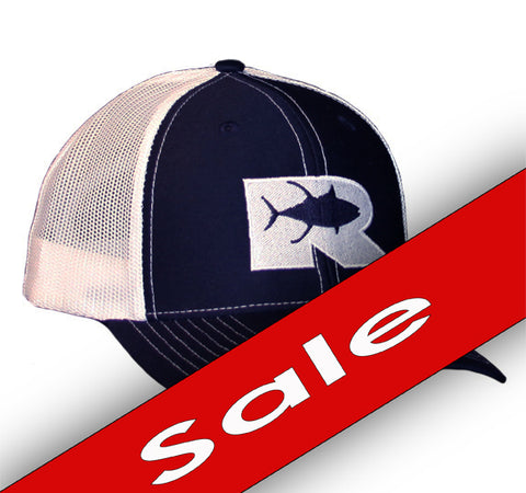 Rogue Tuna Trucker Hat - Navy/White
