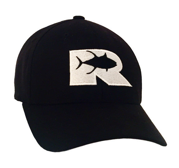 Rogue Tuna logo Flexfit - Black