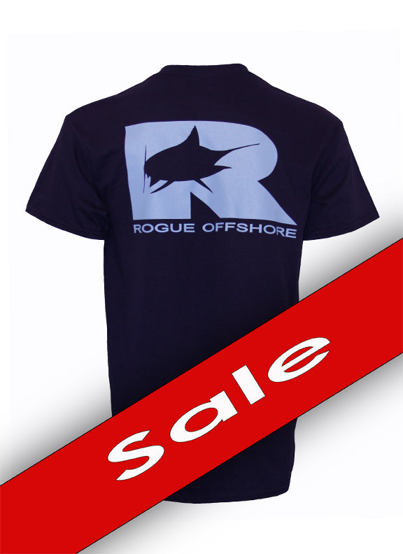 Marlin Logo SS T-Shirt - Navy
