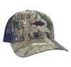 REALTREE Rogue Tuna Trucker Hat - Camo / Chocolate