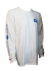 Real Tree Rogue Tuna Camo LS White/Ocean