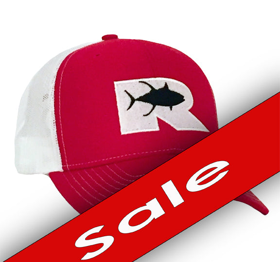 Rogue Tuna Trucker Hat - Red/White