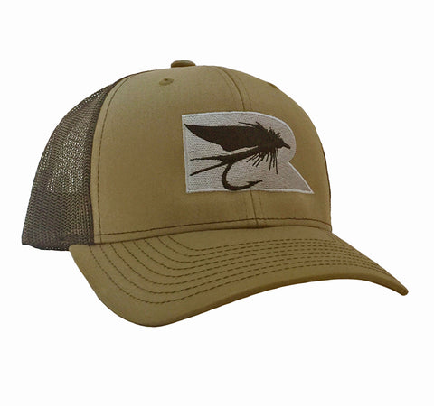 Rogue Fly Trucker Hat - Loden/Black