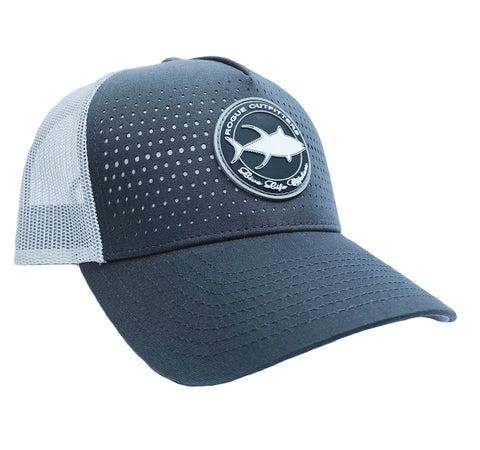 Rogue Outfitters Tuna Patch Trucker Hat (Charcoal)