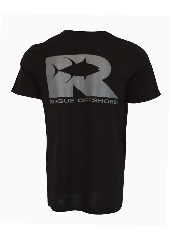 Rogue Tuna Tech Tee -  Black/Charcoal