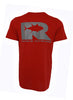 Rogue Tuna Tech Tee - Cardinal/Charcoal