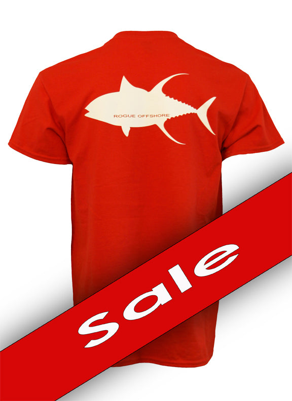 Tuna Design SS T-Shirt - Red/White