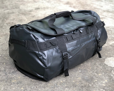 Black Rogue Offshore Performance 75L Duffle Bag