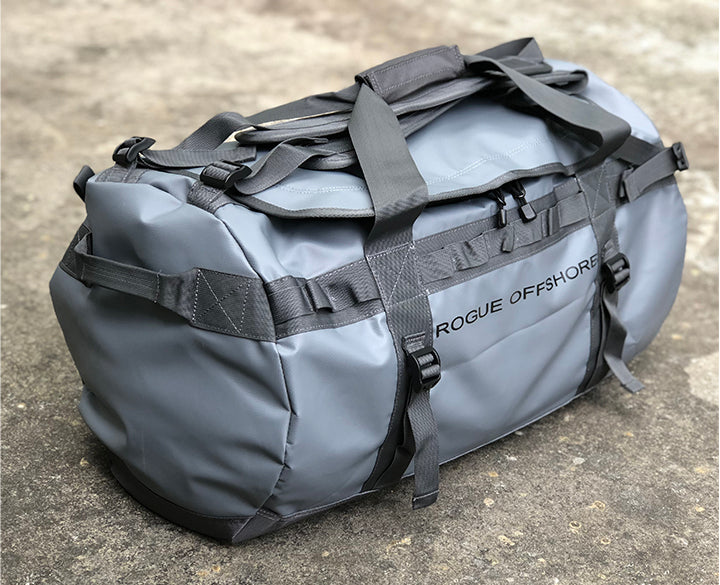 Grey Rogue Offshore Performance 75L Duffle Bag