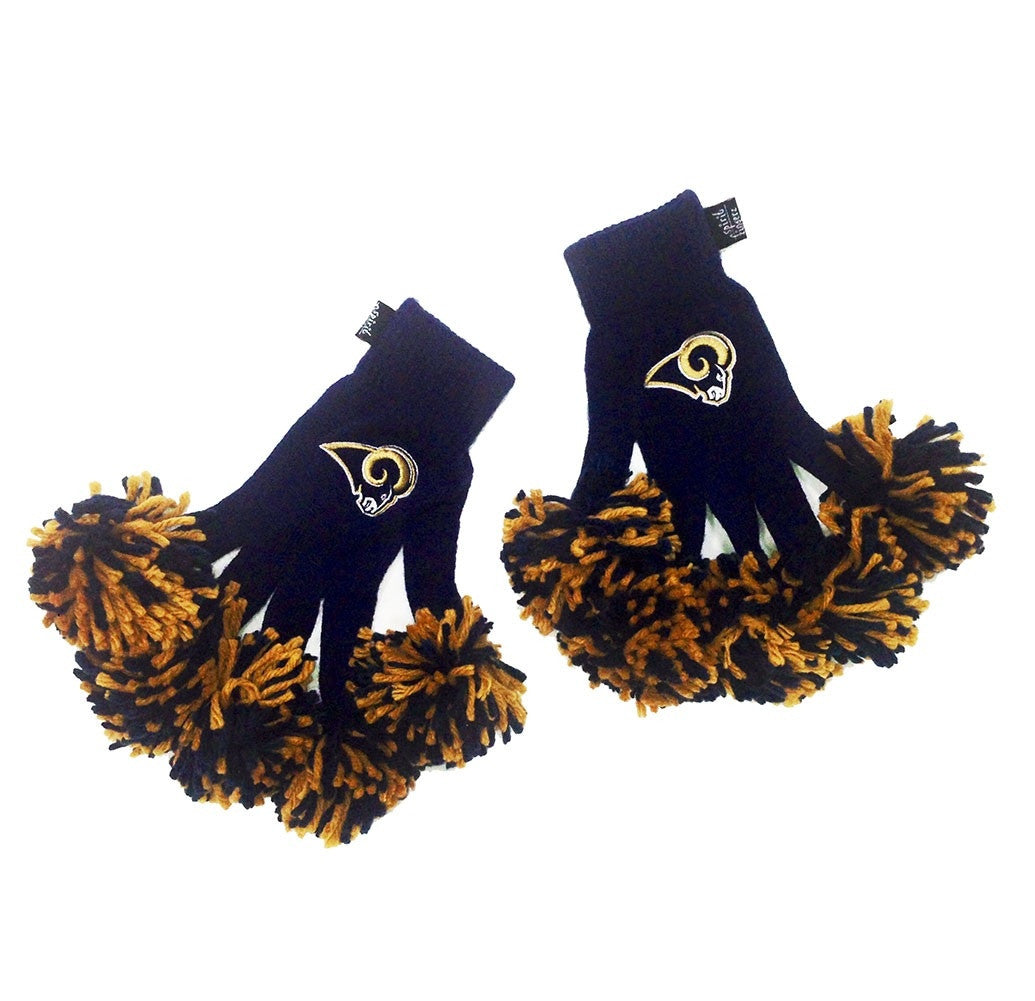St. Louis Rams NFL Spirit Fingerz Cheerleading Pom-Pom Gloves