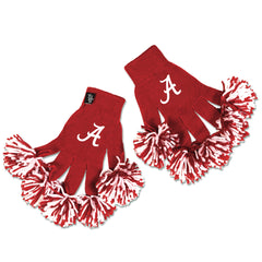 Alabama Crimson Tide NCAA Spirit Fingerz Cheerleading Pom-Pom Gloves