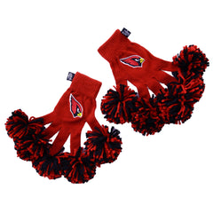 Arizona Cardinals NFL Spirit Fingerz Cheerleading Pom-Pom Gloves
