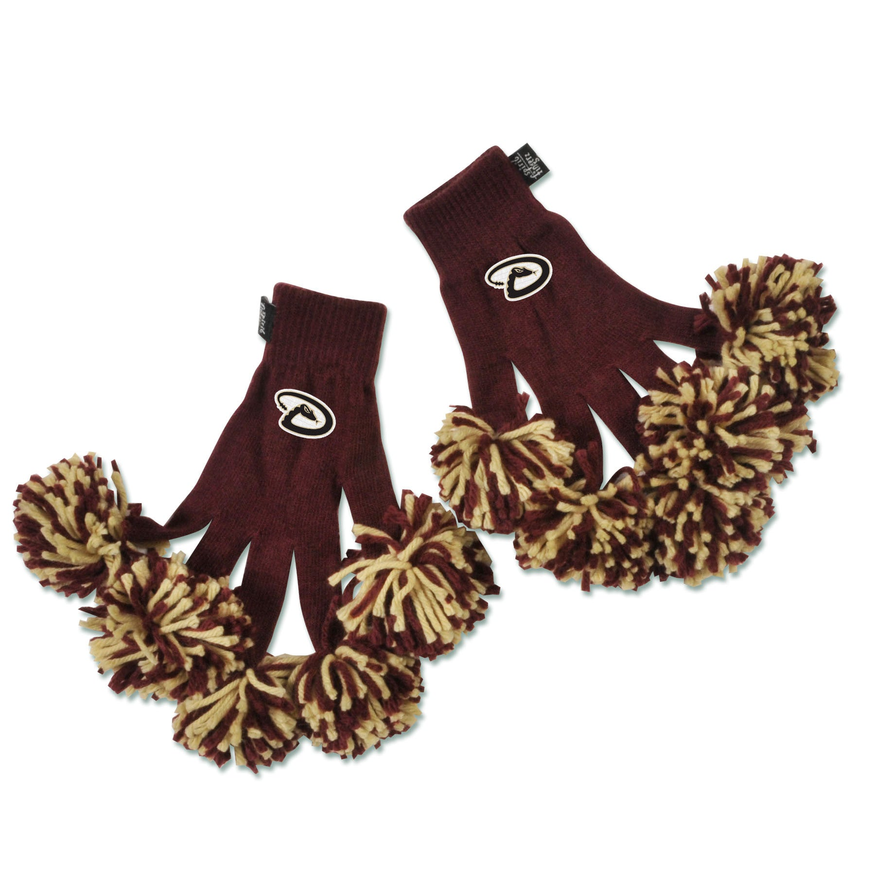 Arizona Diamondbacks MLB Spirit Fingerz Cheerleading Pom-Pom Gloves