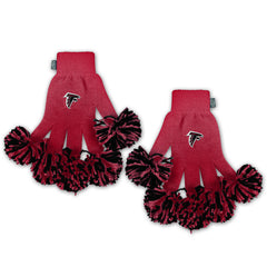 Atlanta Falcons NFL Spirit Fingerz Cheerleading Pom-Pom Gloves