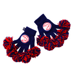 Atlanta Hawks NBA Spirit Fingerz Cheerleading Pom-Pom Gloves