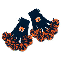 Auburn Tigers NCAA Spirit Fingerz Cheerleading Pom-Pom Gloves