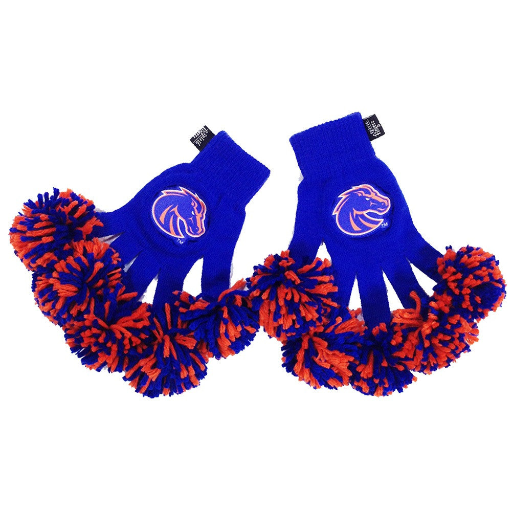 Boise State Broncos NCAA Spirit Fingerz Cheerleading Pom-Pom Gloves