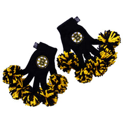 Boston Bruins NHL Spirit Fingerz Cheerleading Pom-Pom Gloves