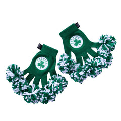Boston Celtics NBA Spirit Fingerz Cheerleading Pom-Pom Gloves