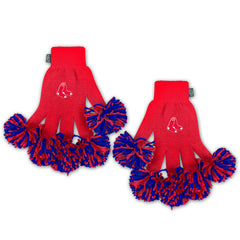 Boston Red Sox MLB Spirit Fingerz Cheerleading Pom-Pom Gloves