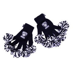 Brooklyn Nets NBA Spirit Fingerz Cheerleading Pom-Pom Gloves