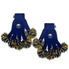 Buffalo Sabres NHL Spirit Fingerz Cheerleading Pom-Pom Gloves