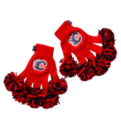 Calgary Flames NHL Spirit Fingerz Cheerleading Pom-Pom Gloves