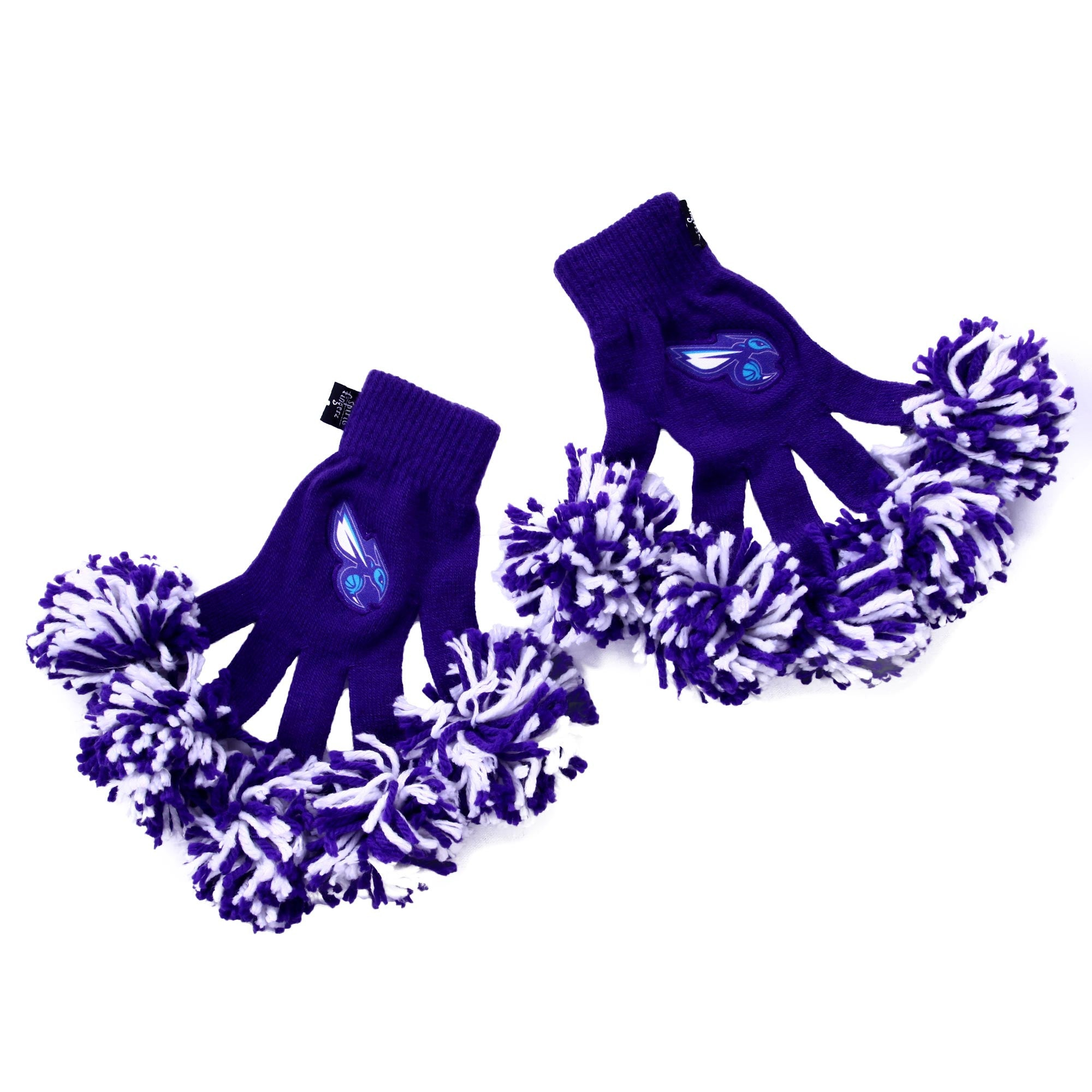 Charlotte Hornets NBA Spirit Fingerz Cheerleading Pom-Pom Gloves